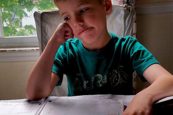¡No me gustan los deberes!