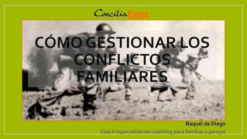 gestionar conflictos Orientación familiar y en el aula